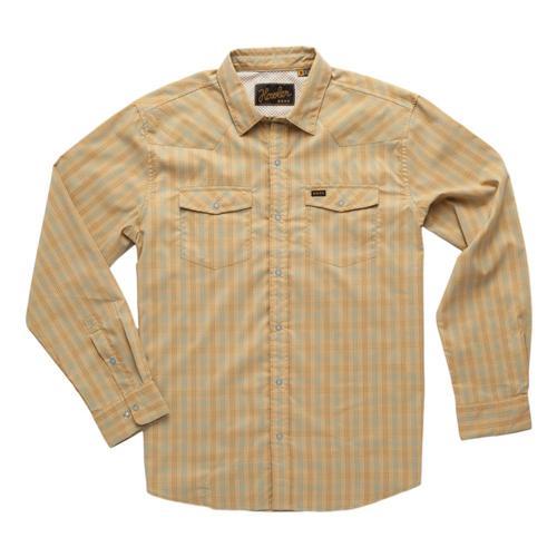 Howler Brothers Men's H Bar B Tech Longsleeve Shirt Liontan_spt