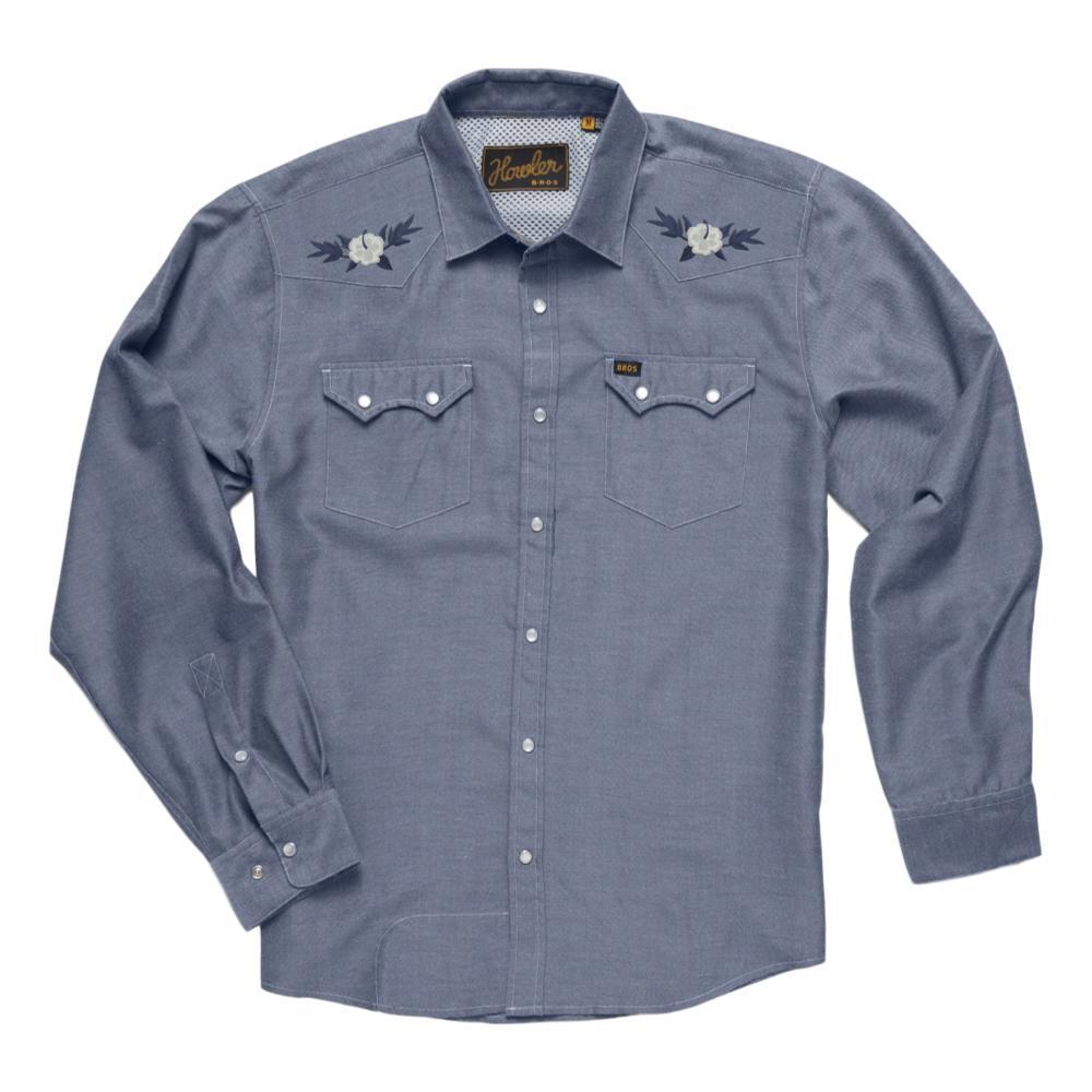 Howler Brothers Men's Crosscut Deluxe Shirt HIBISCUS_HHB