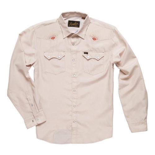 Howler Brothers Men's Crosscut Deluxe Shirt Sun_rsr