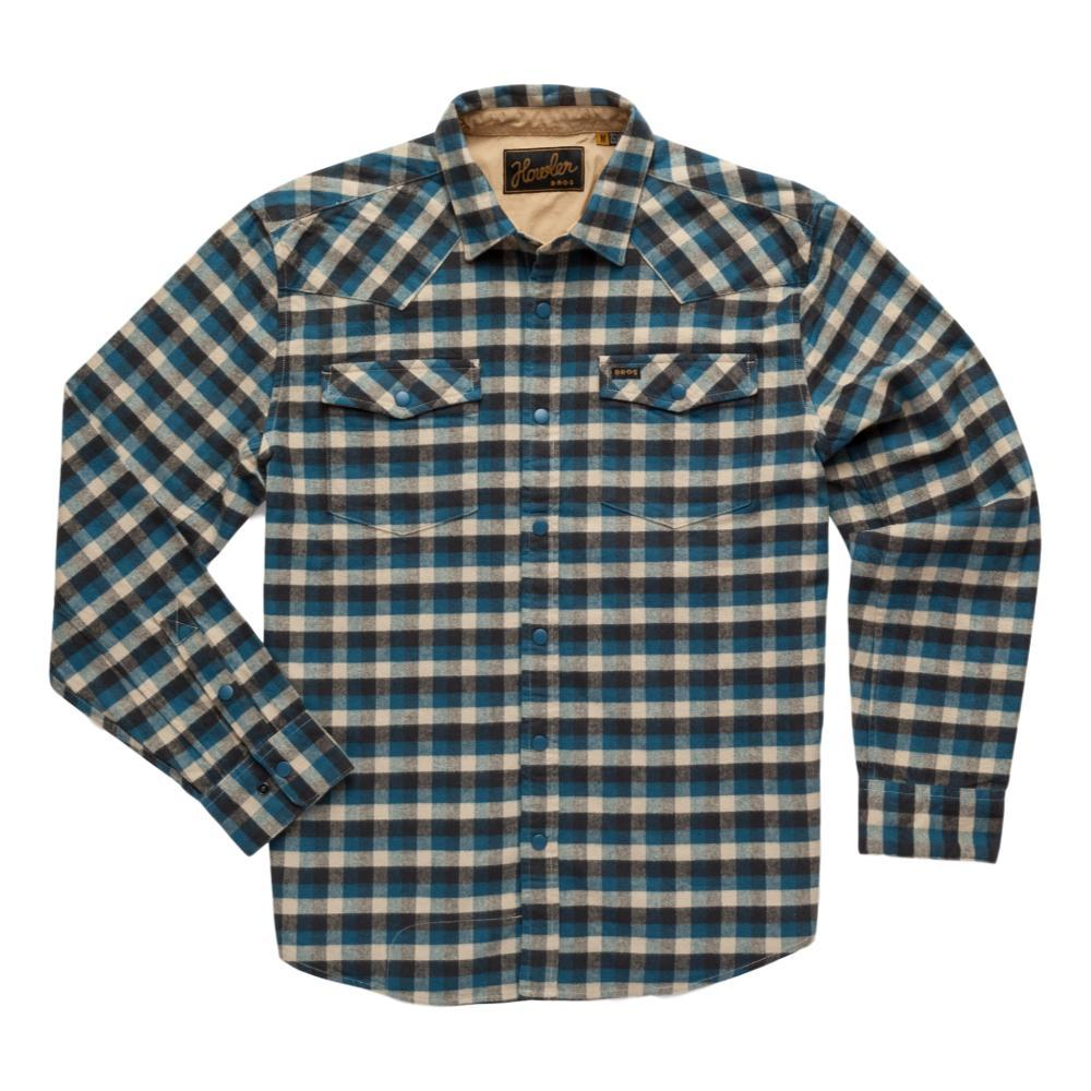 Howler Brothers Men's Stockman Stretch Snapshirt BLUE_PPB