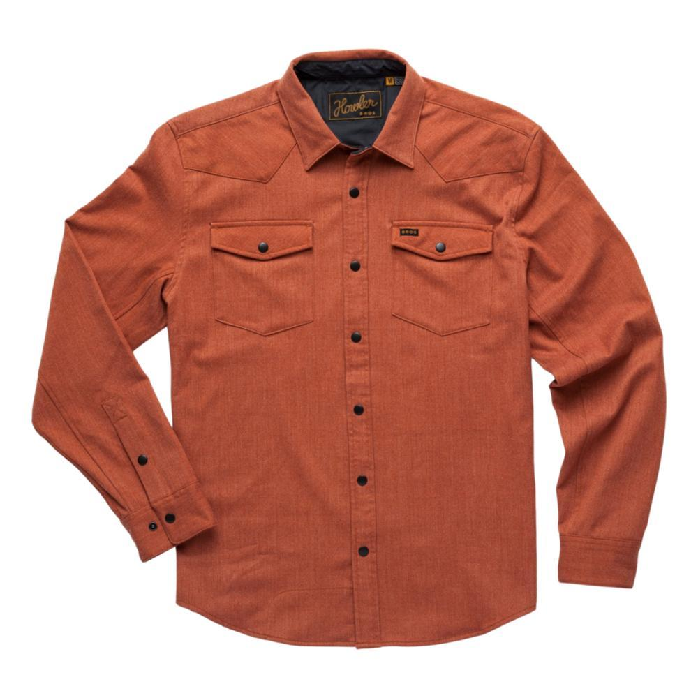 Howler Brothers Men's Stockman Stretch Snapshirt EMBER_EMB