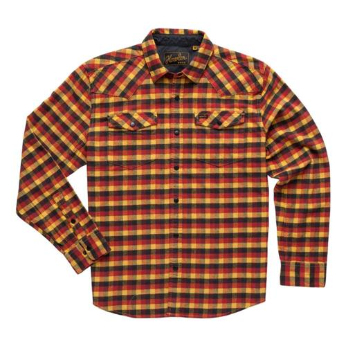 Howler Brothers Men's Stockman Stretch Snapshirt Gold_ppg