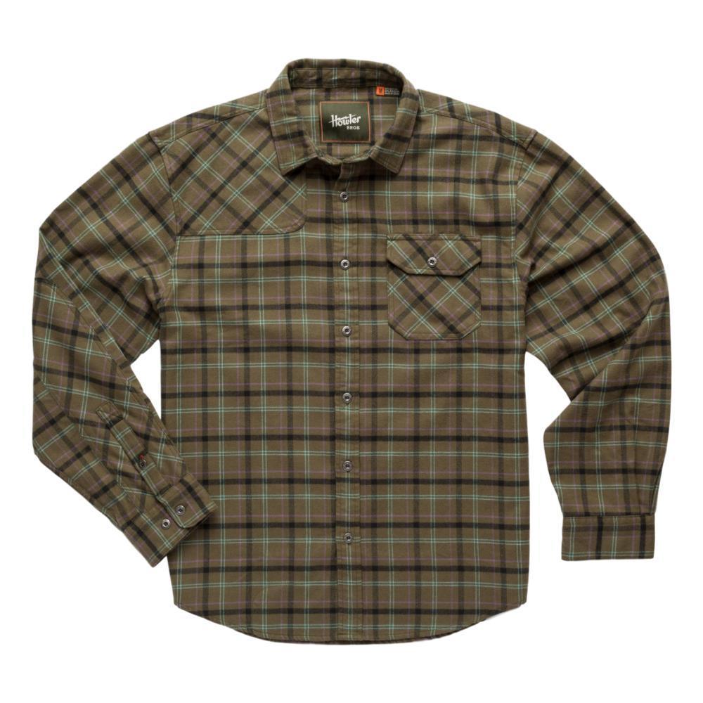 Howler Brothers Harker's Flannel GREEN_FTG