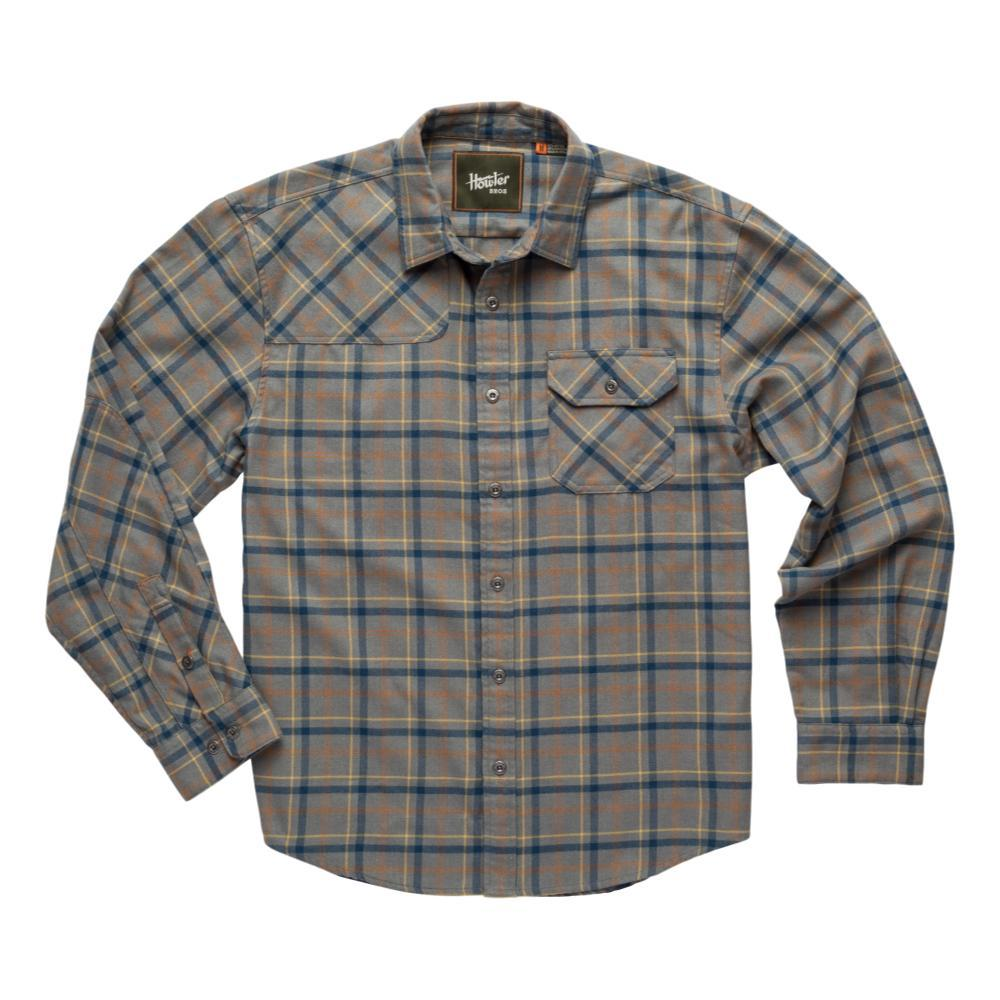 Howler Brothers Men's Harker's Flannel PIGEON_GRY