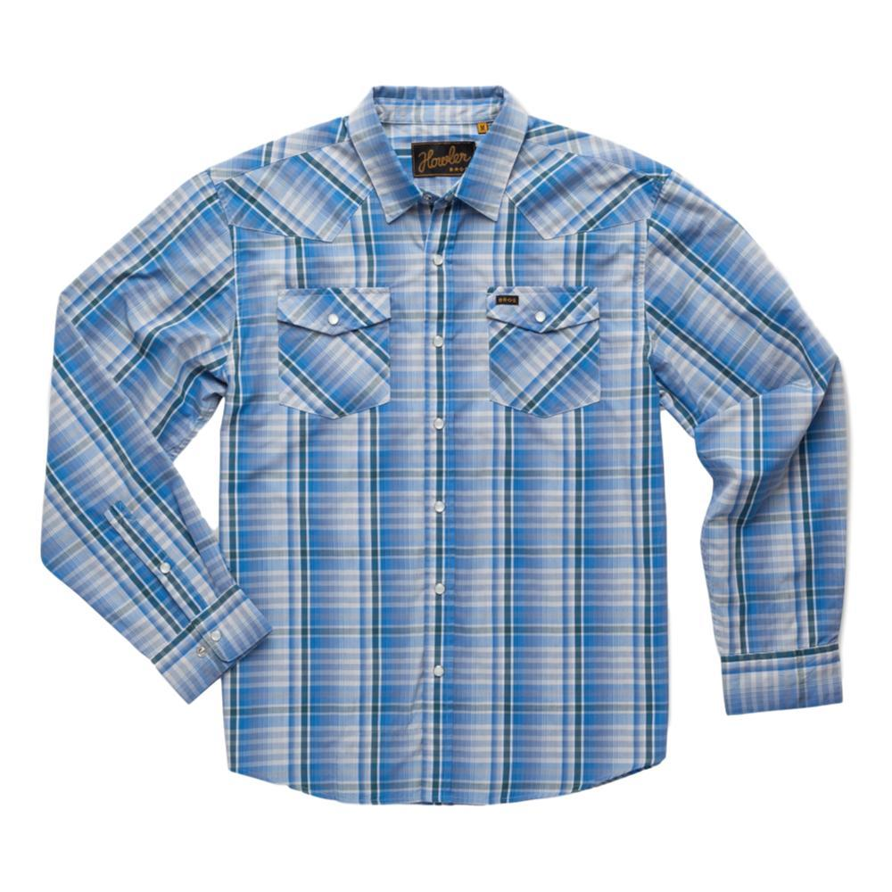 Howler Brothers Men's H Bar B Longsleeve Shirt BLUE_PPB