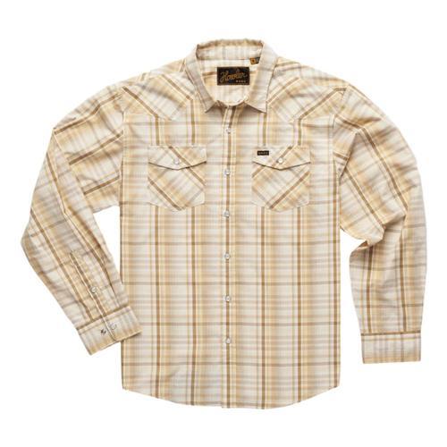 Howler Brothers Men's H Bar B Longsleeve Shirt Harvest_pph