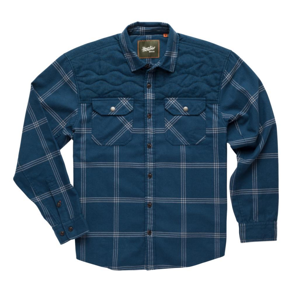 Howler Brothers Men's Quintana Quilted Flannel BLUE_LCB
