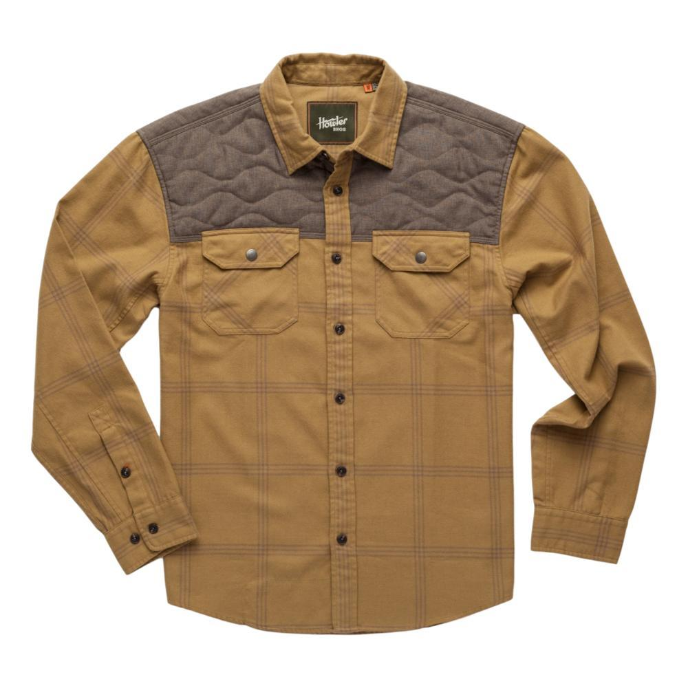 Howler Brothers Men's Quintana Quilted Flannel KHAKI_LCK