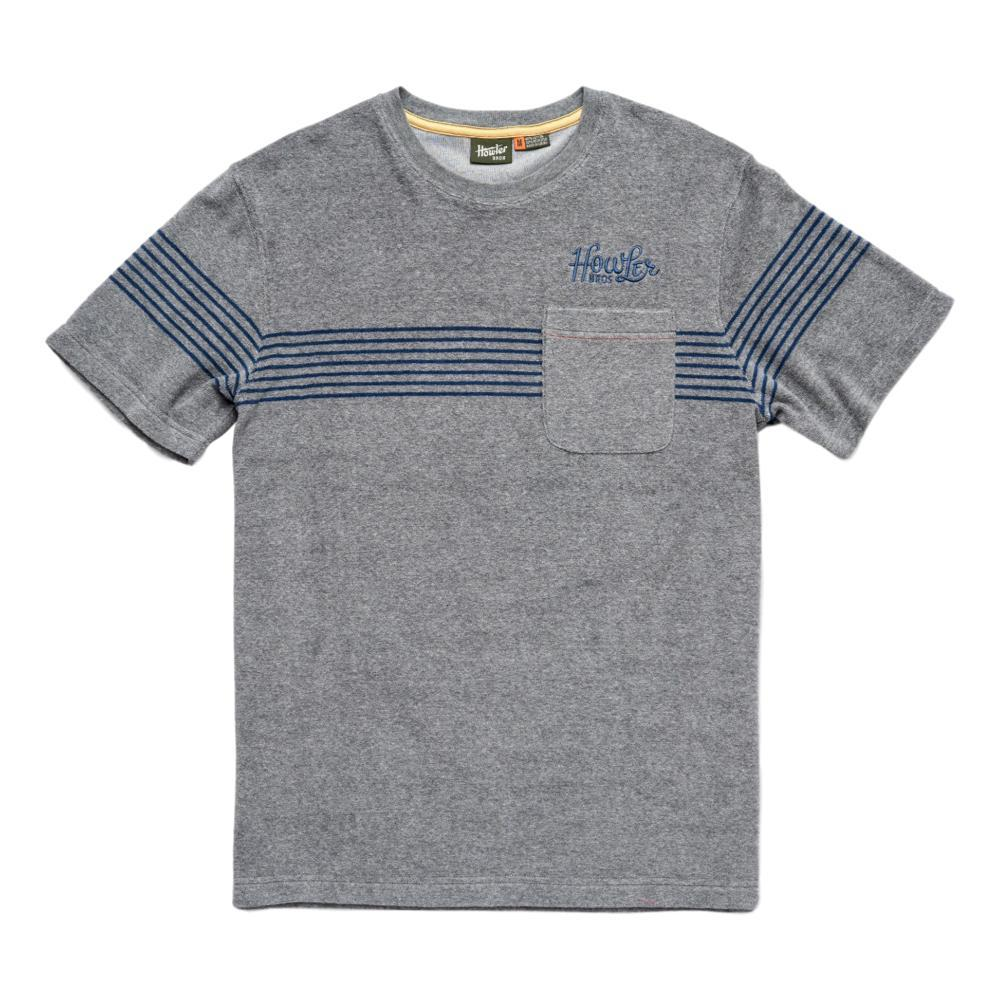 Howler Brothers Men's Terry Stripe T-Shirt GREY_EQZ