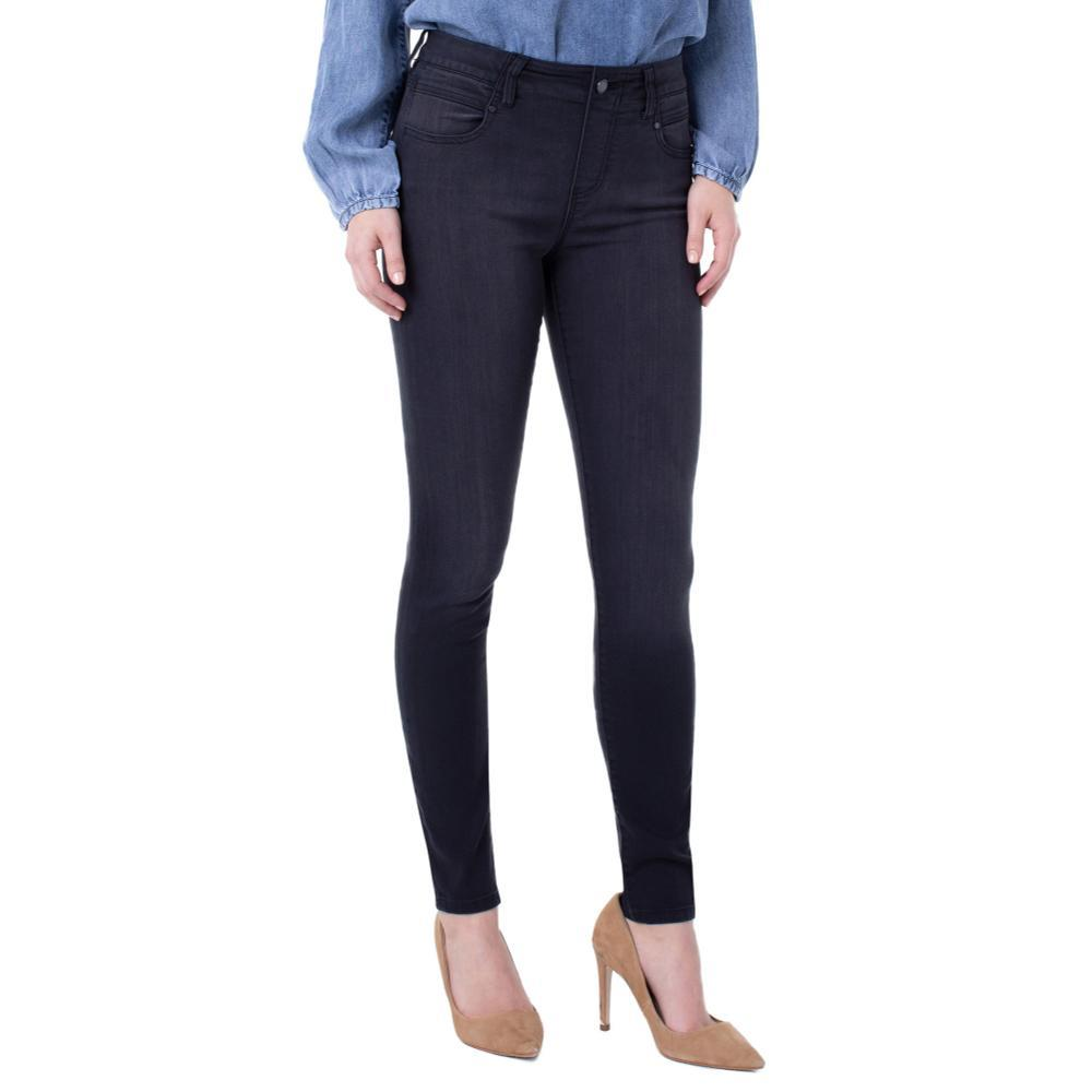 Liverpool Women's Gia Glider Skinny Pull-On Silky Soft Jeans NIGHTJET