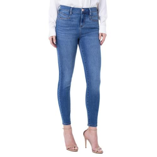Liverpool Women's Abby Hi-rise Ankle Skinny Eco-friendly Jeans Laine