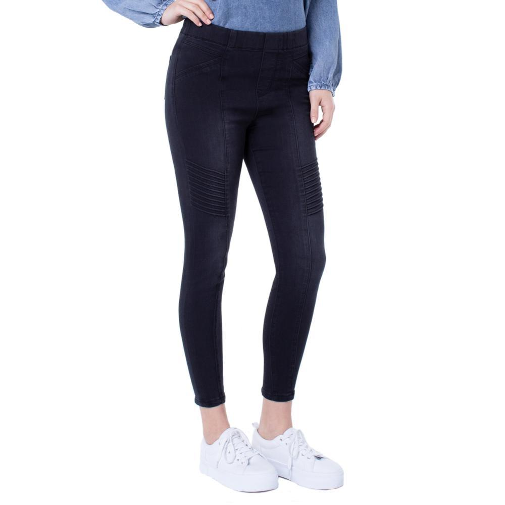 Liverpool Chloe Seamed Moto Pull-on Silky Soft Jeans NAPLES