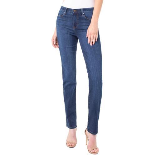 Liverpool Women's Sadie Straight Silky Soft Jeans Sanandreas