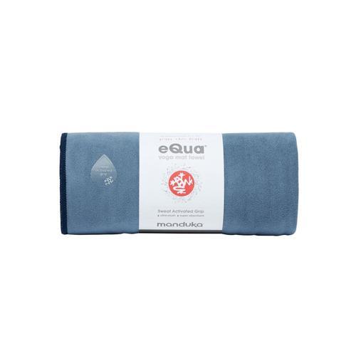 Manduka eQua Yoga Towel - Storm Storm