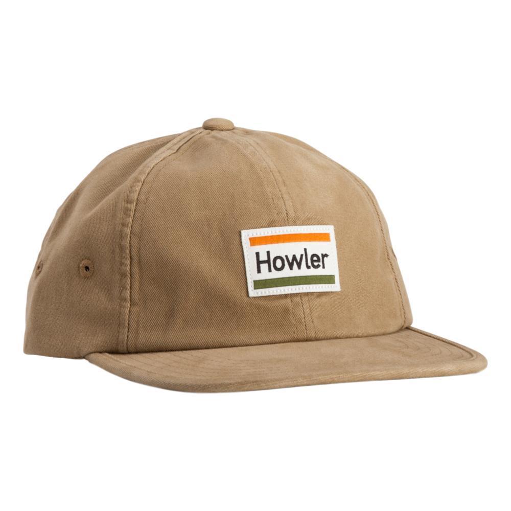 Howler Brothers Howler Bars Strapback Hat BRITKHAKI