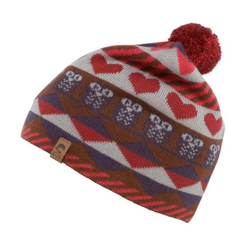 Sunday Afternoons Kids Hearts and Owls Beanie Persimmon