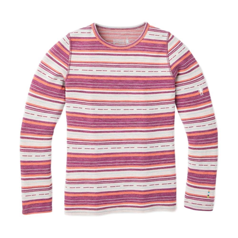 Smartwool Kids Merino 250 Base Layer Pattern Crew Shirt HABNRO_C19