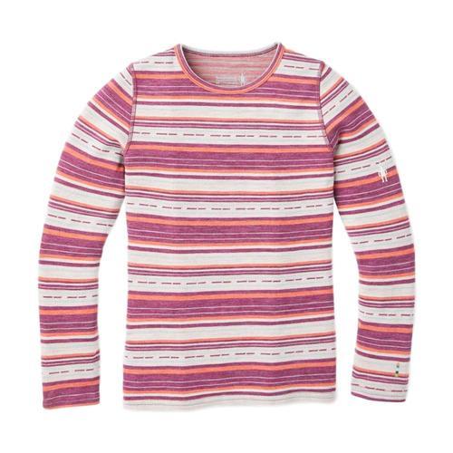 Smartwool Kids Merino 250 Base Layer Pattern Crew Shirt Habnro_c19
