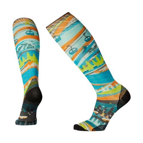 Smartwool PhD Ski Ultra Light 25th Anniversary Print Socks Multic_150