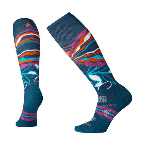 Smartwool Women's PhD Ski Medium Pattern Socks Dpmarl_c51