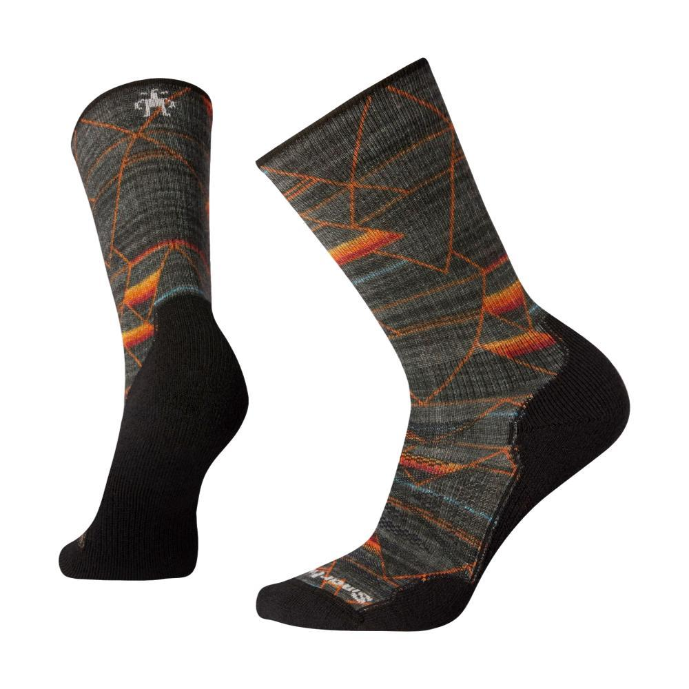 Smartwool Men's PhD Outdoor Light Margarita Mash-Up Print Crew Socks GRAPHI_018