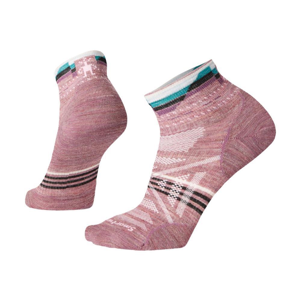 Smartwool Women's PhD Outdoor Ultra Light Pattern Mini Socks NSROSE_A32