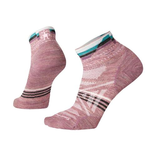 Smartwool Women's PhD Outdoor Ultra Light Pattern Mini Socks Nsrose_a32