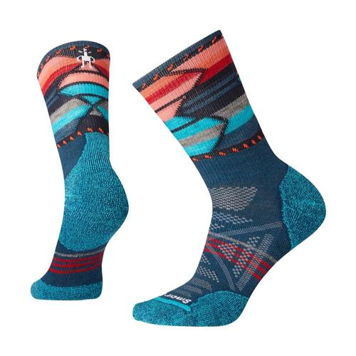 Smartwool Women's PhD Outdoor Light Pattern Mid Crew Socks Dpmarl_c51
