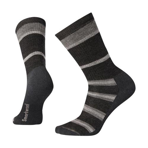 Smartwool Hike Medium Striped Crew Socks Charco_003