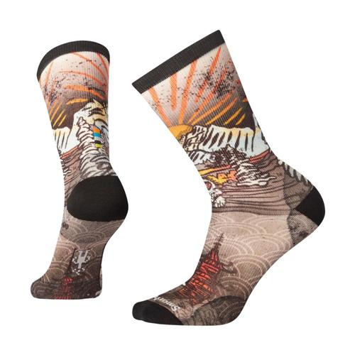 Smartwool Men's Curated Monkey Lounge No Show Socks Multic_150