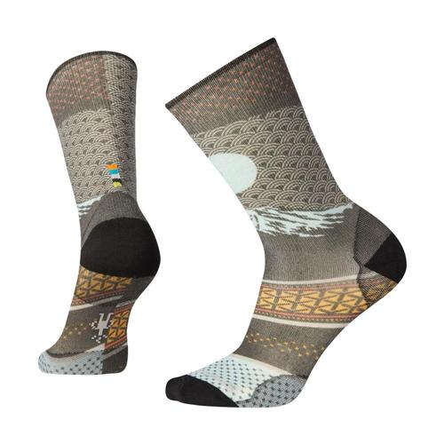 Smartwool Men's Curated Mt. Fuji Crew Socks Multic_150