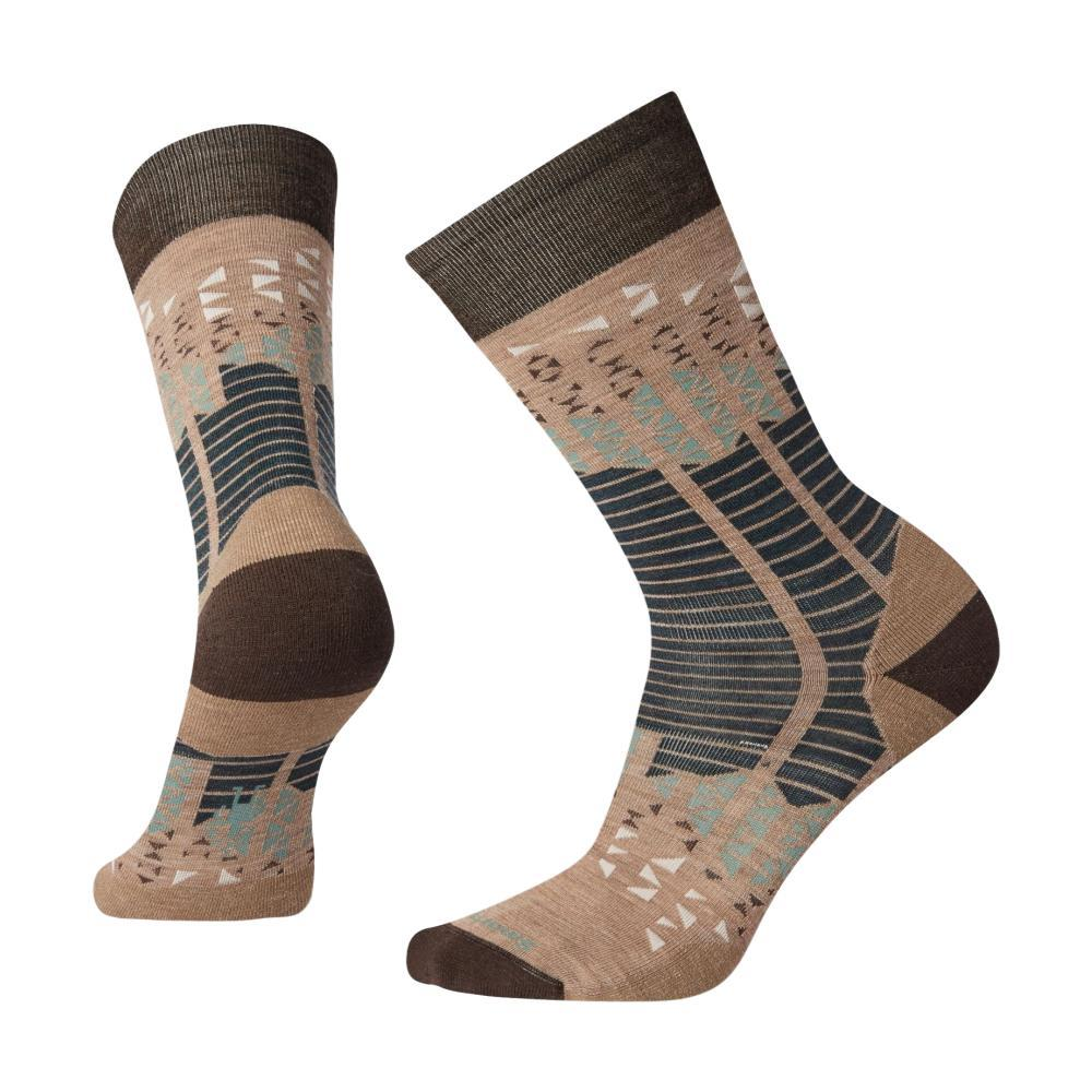 Smartwool Men's Mountain Borough Crew Socks TAUPE_236