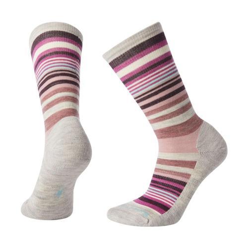 Smartwool Women's Jovian Stripe Socks Amauve_b24