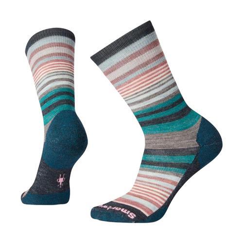 Smartwool Women's Jovian Stripe Socks Evergl_b96
