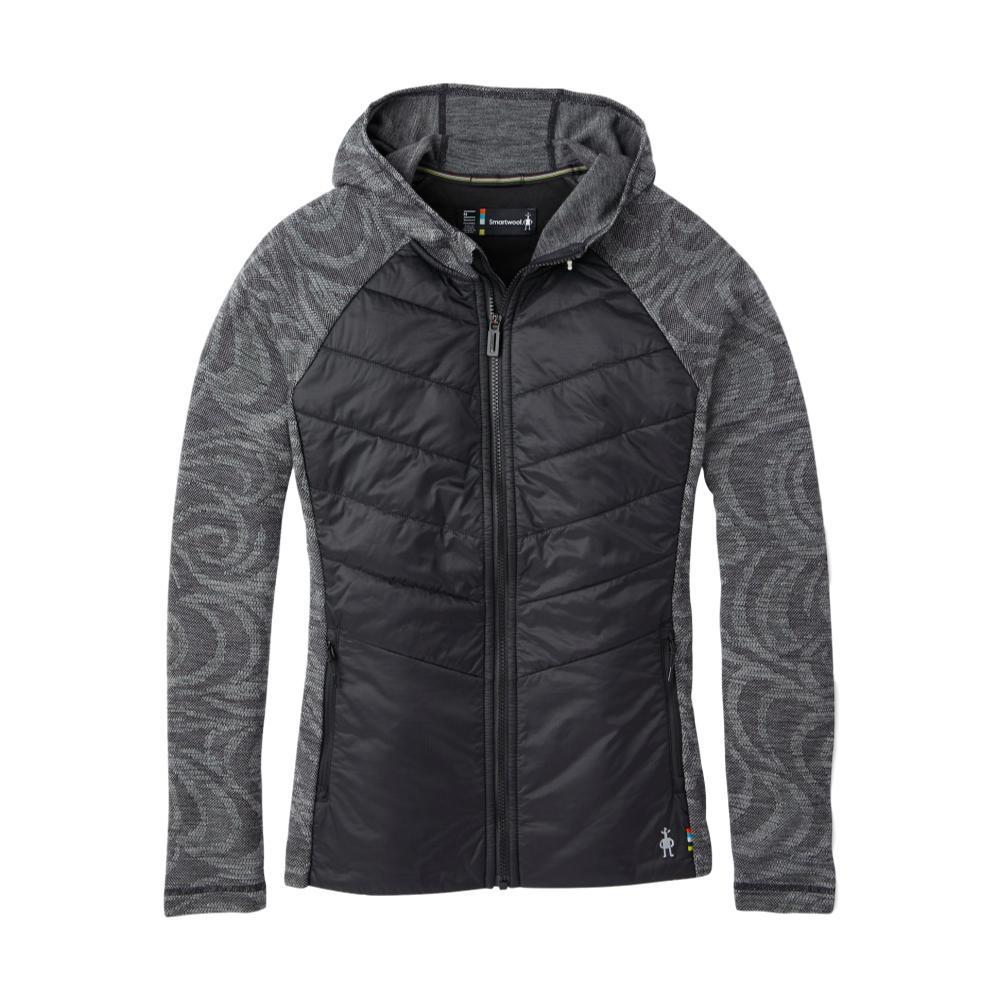 Smartwool Women's Smartloft 60 Hoodie Full Zip Jacket BLACK_001