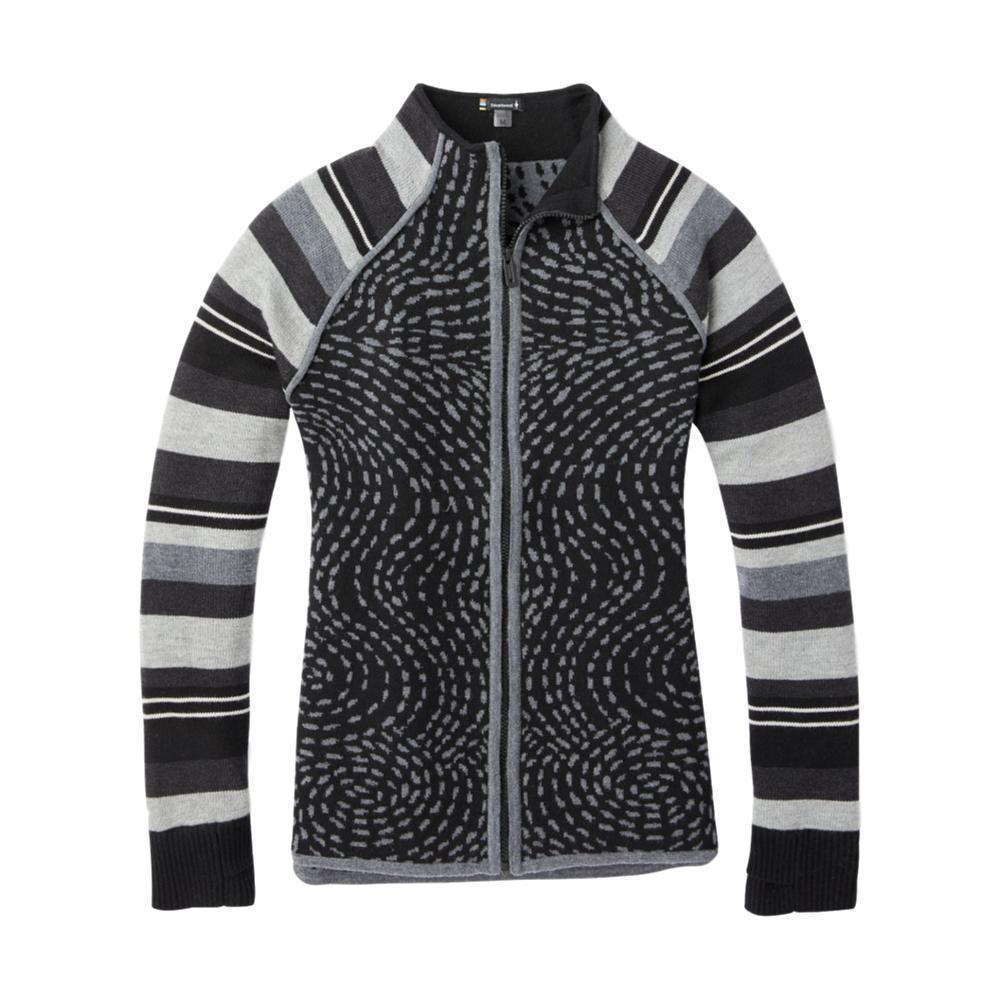 Smartwool Women's Dacono Ski Full Zip Sweater BLACK_001