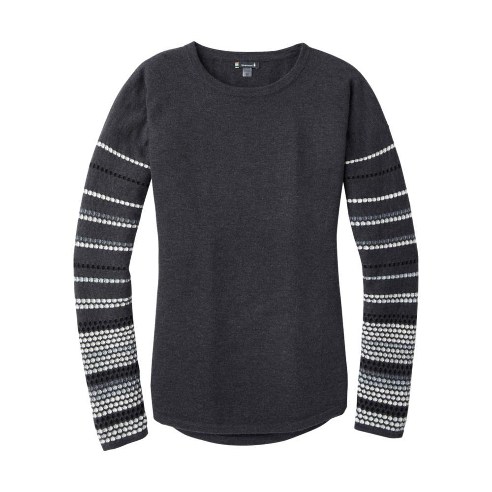 Smartwool Women's Shadow Pine Crew Sweater CHARCOAL_010