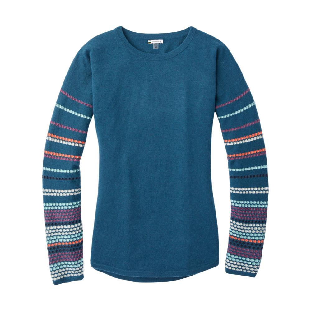 Smartwool Women's Shadow Pine Crew Sweater MARLIN_C52