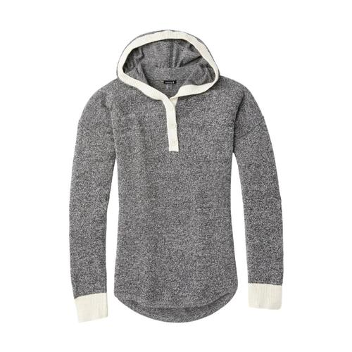 Smartwool Women's Shadow Pine Hoodie Sweater Blackmarl_c46