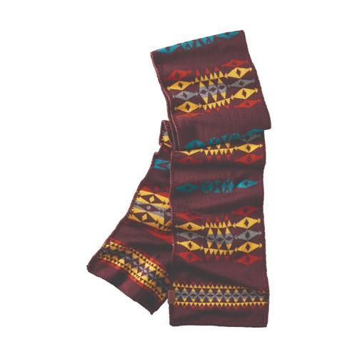 Pendleton Knit Scarf Redt_54635
