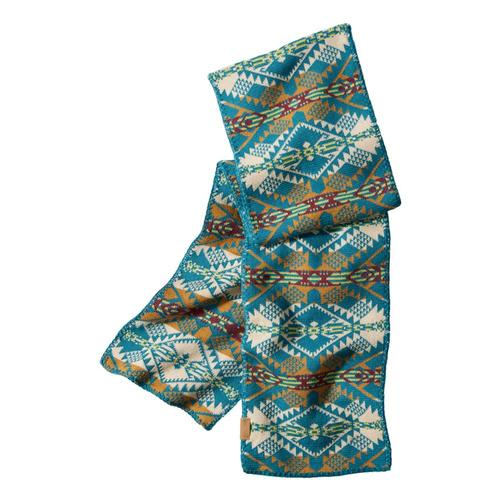 Pendleton Knit Scarf Turq_54701