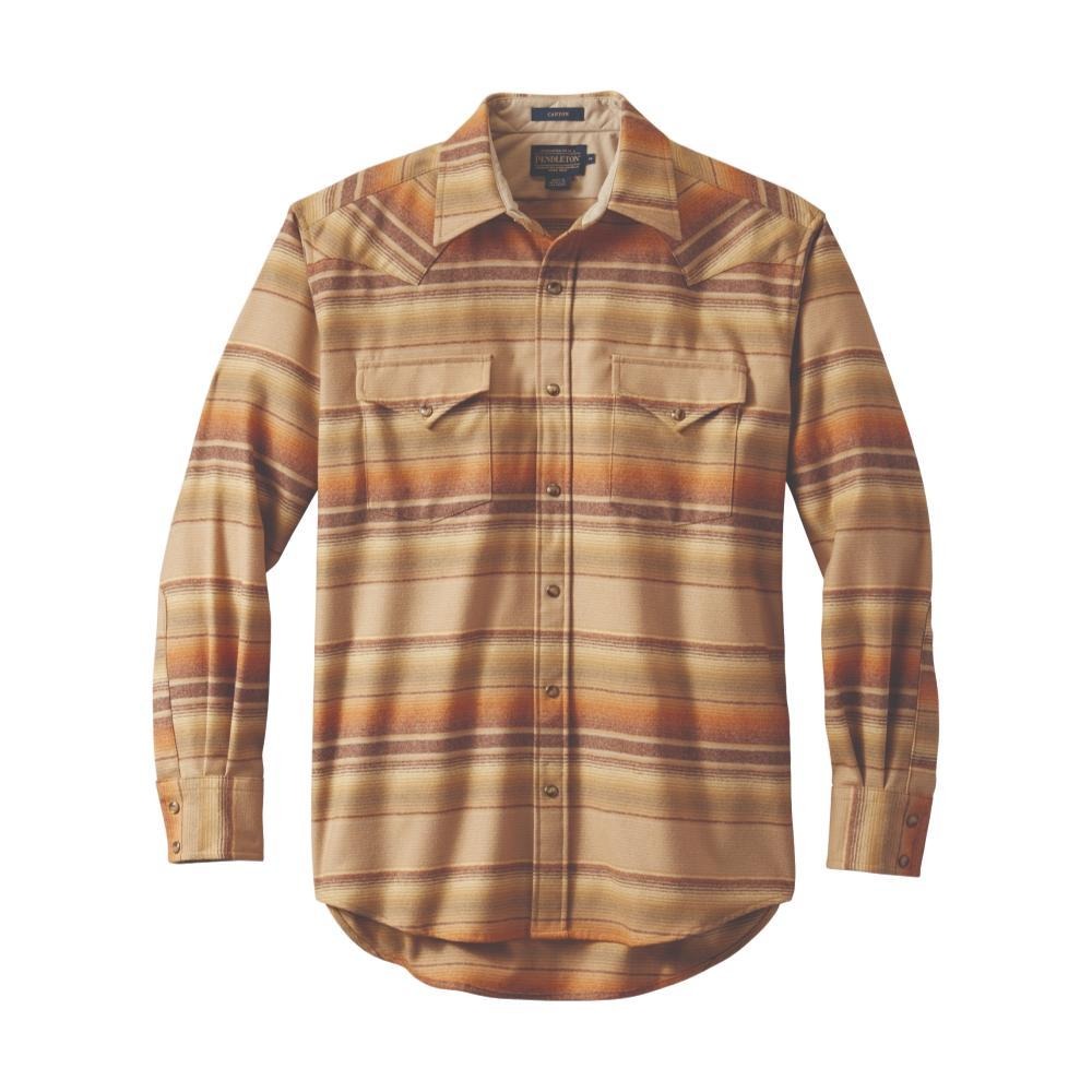 Pendleton Men's Snap-Front Western Canyon Shirt TAN32191