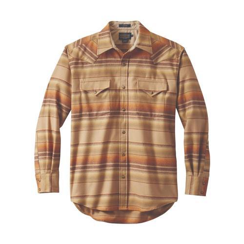 Pendleton Men's Snap-Front Western Canyon Shirt Tan32191