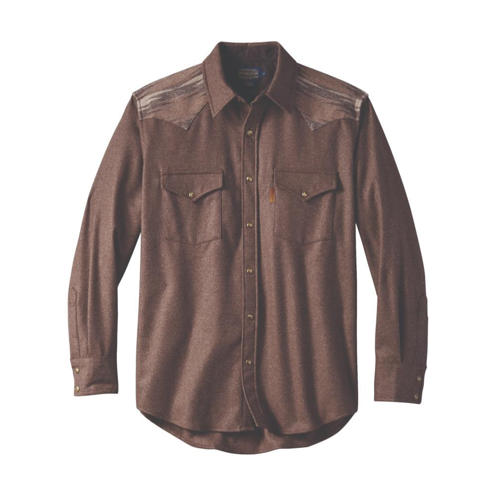 Pendleton Men's Pieced Jacquard Canyon Shirt BRWN28322