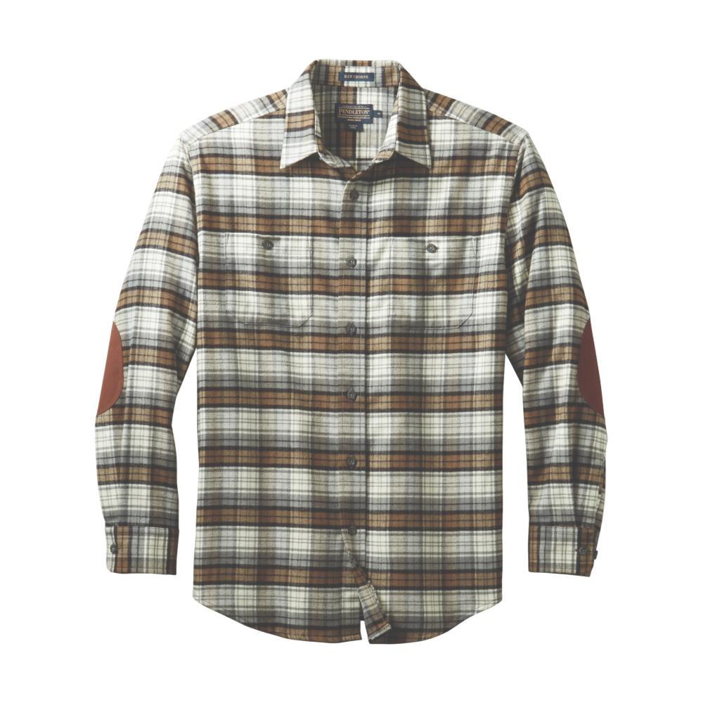 Pendleton Men's Double-Brushed Hawthorne Flannel Shirt BLKWATCH65533