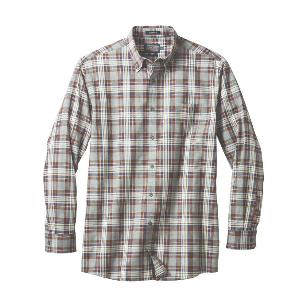 Pendleton Men's Somerset Button Down Shirt GRYBRWN79026