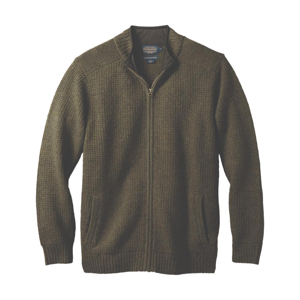 Pendleton Men's Shetland Full-Zip Cardigan GREEN61413
