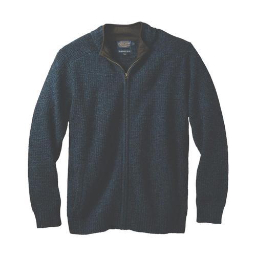Pendleton Men's Shetland Full-Zip Cardigan Indigo63630