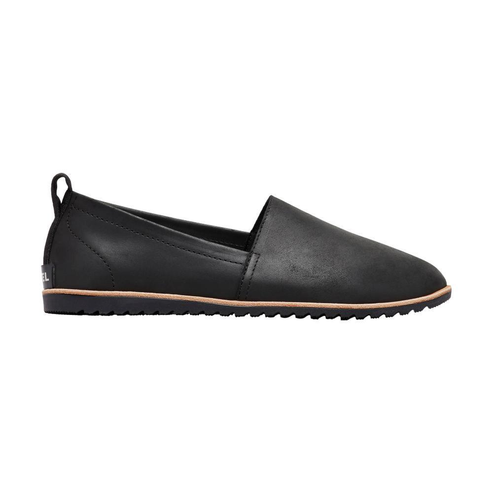 Sorel Women's Ella Slip-On Shoes BLK_010