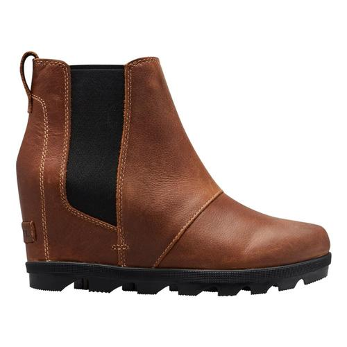 Sorel Women's Joan of Arctic Wedge II Chelsea Boots Elk_286